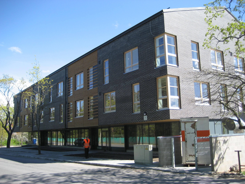 Büroohoone ehitustööd Vääna tänaval